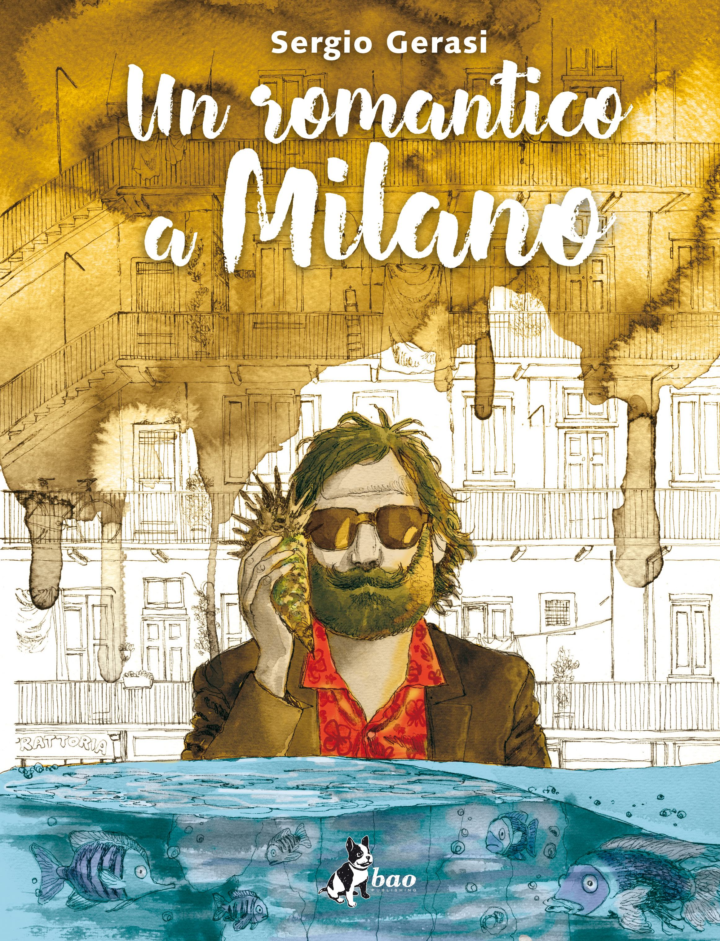 Un romantico a Milano Book Cover