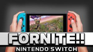 Fortnite arriva su Nintendo Switch