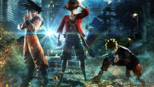 Jump Force Goku Luffy Naruto