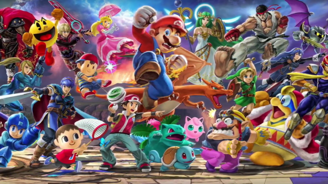 Roster Smash Bros Ultimate