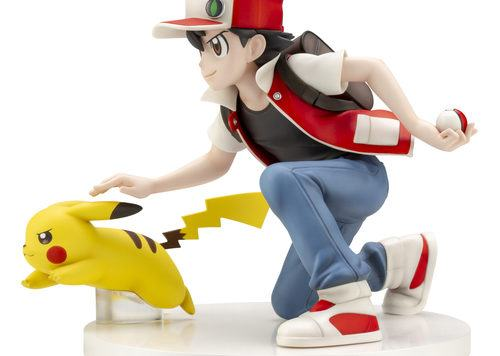 Action Figure Red e Pikachu