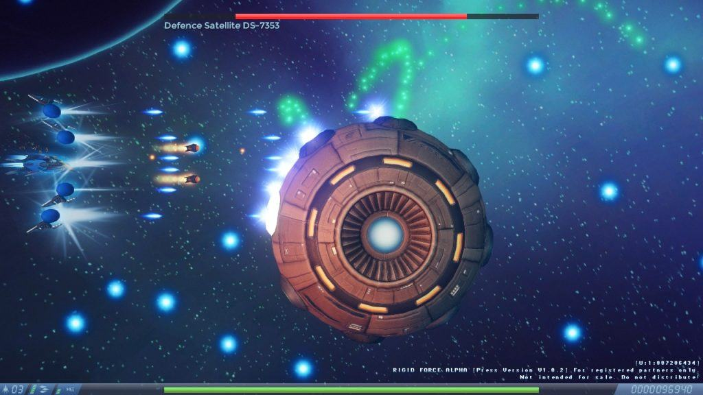 Recensione Rigid Force Alpha Boss Fight