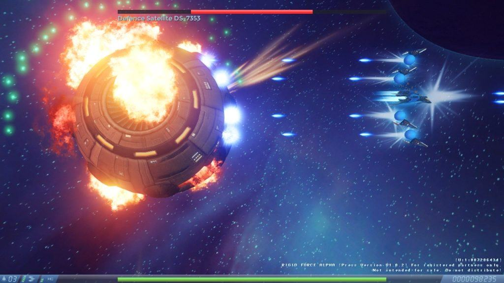 Recensione Rigid Force Alpha Boss Fight 2