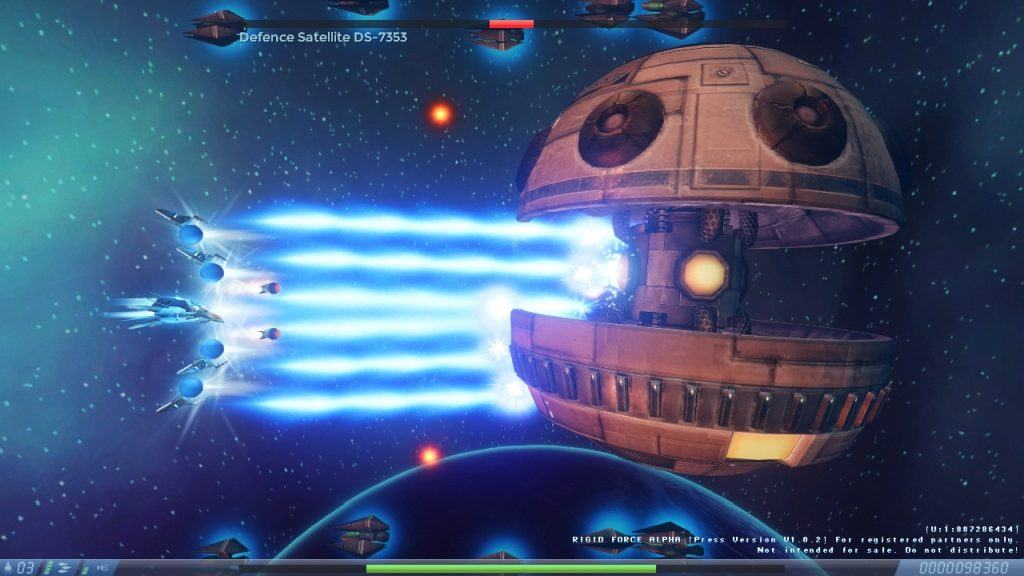 Recensione Rigid Force Alpha Boss Fight 3