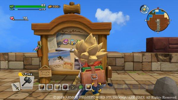 Dragon Quest Builders 2 Bulletin Board