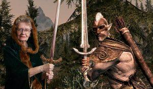 shirley curry the elder scrolls vi gioco skyrim v youtube youtuber