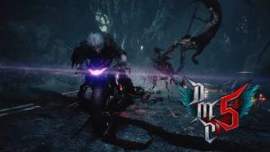 Dante in moto su Devil May Cry 5