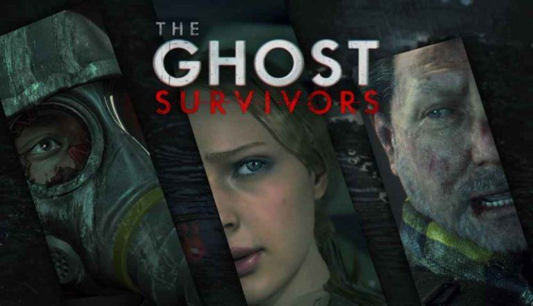 La copertina di The Ghost Survivors