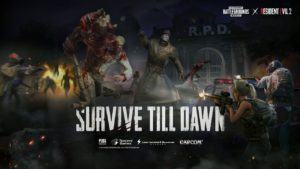 Survive Till Dawn Evento PUBG Mobile