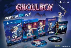eastasiasoft ghoul boy platform gioco 16 bit era gameplay tributo limited collector edition
