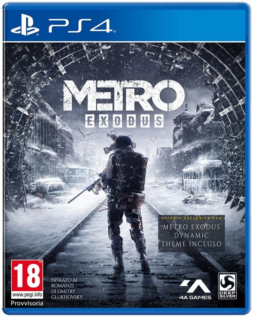 metro exodus gioco uscita gameplay playstation xbox pc console fps horror deep silver 4a games