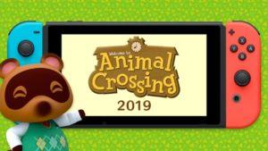 Animal Crossing Switch uscita 2019