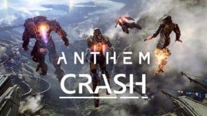 Anthem copertina con CRASH