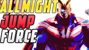 Jump Force All Might My Hero Academia DLC