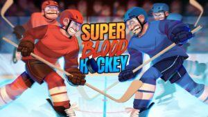 La copertina di Super Blood Hockey