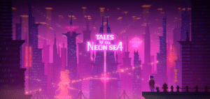 Copertina di Tales of the Neon Sea