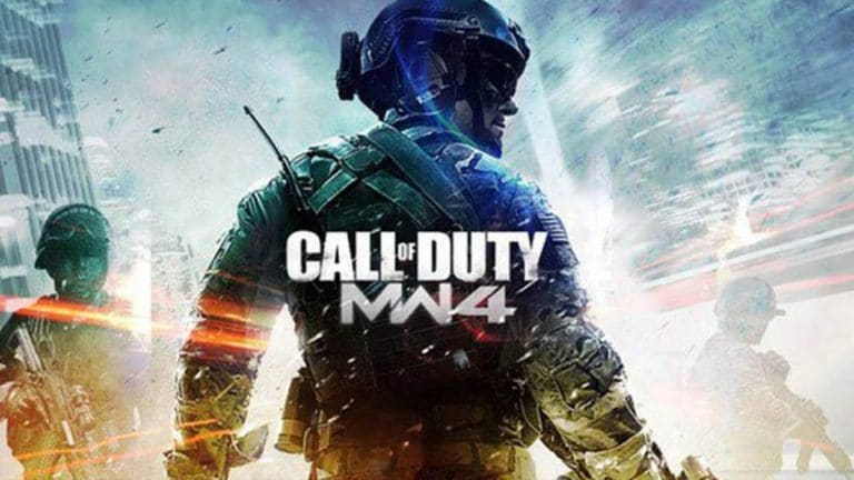 Copertina amatoriale di Call of Duty: Modern Warfare 4