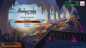 Masquerada: Songs and Shadows schermata di gioco