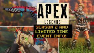 Evento e novità Apex Legends season 2