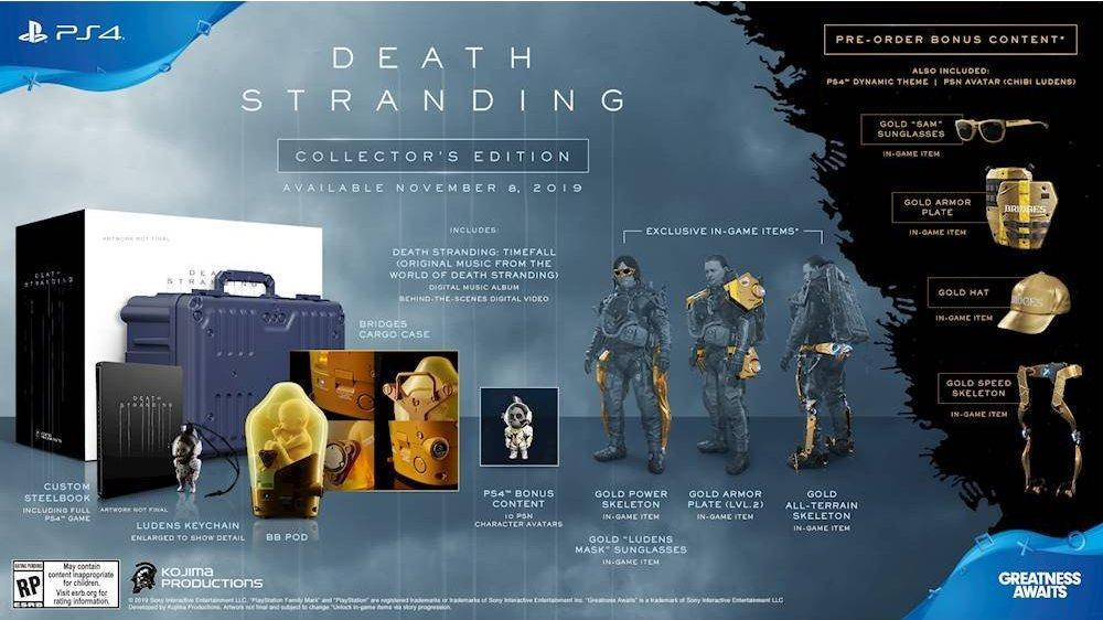 Death Stranding Collector Edition PS4