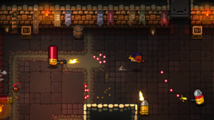 Gameplay di Enter the Gungeon