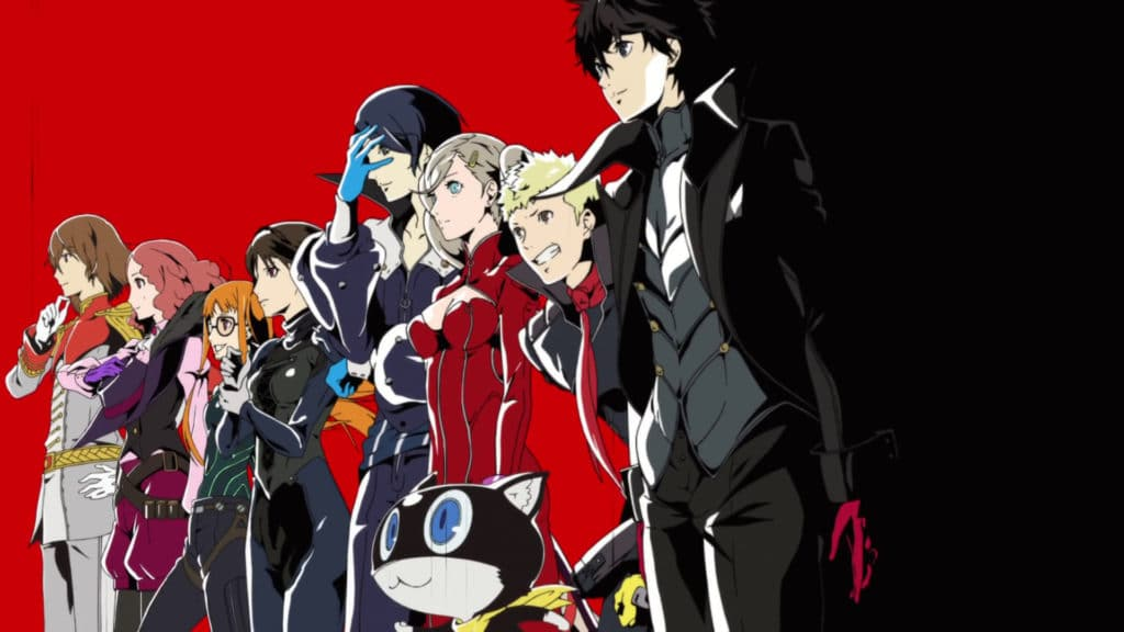 La copertina di Persona 5 The Royal