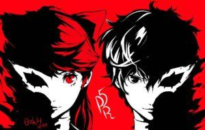 Kasumi e Joker in Persona 5 The Royal