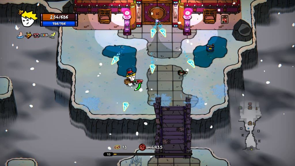 Il gameplay di Super Cane Magic ZERO