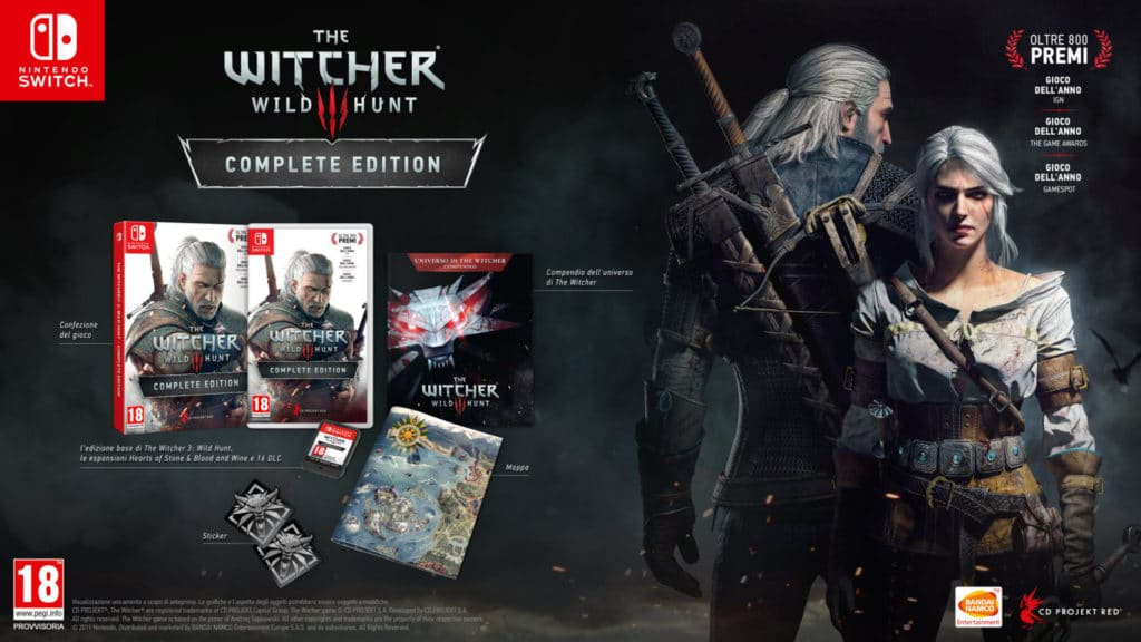 The Witcher 3 Complete Edition per Nintendo Switch