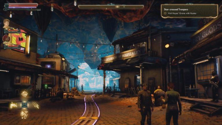 Outer worlds first gameplay