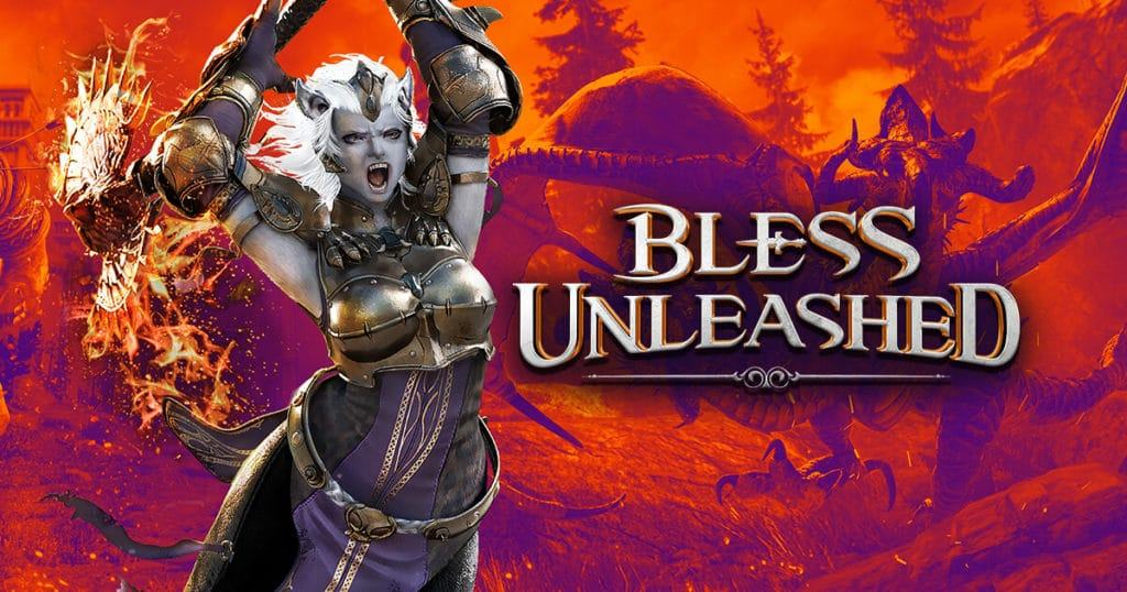 Bless Unleashed trailer dungeon data closed beta date uscita free to play xbox one