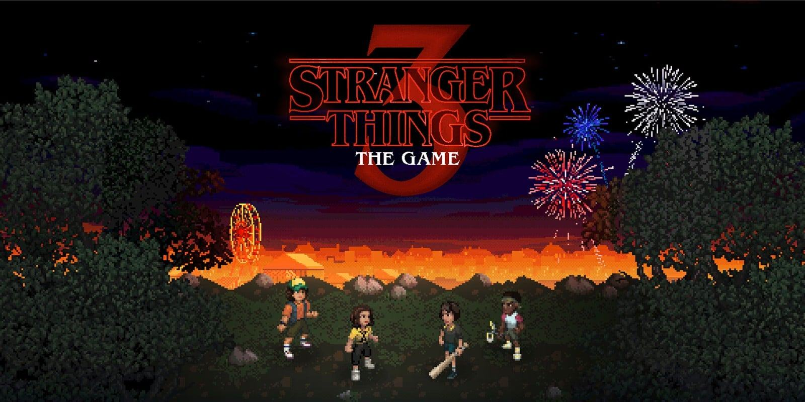 La copertina di Stranger Things 3: The Game