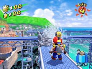 gameplay mario sunshine