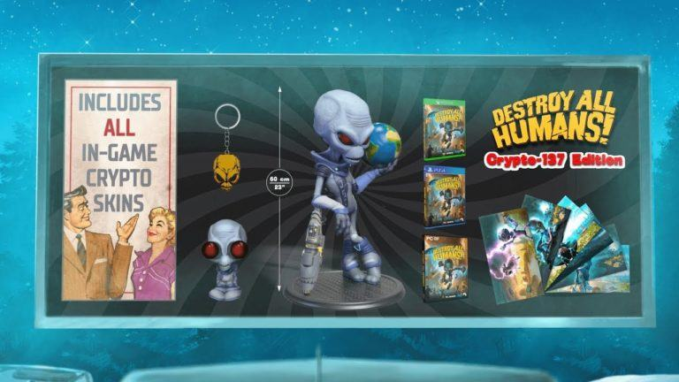 destroy all humans collector's