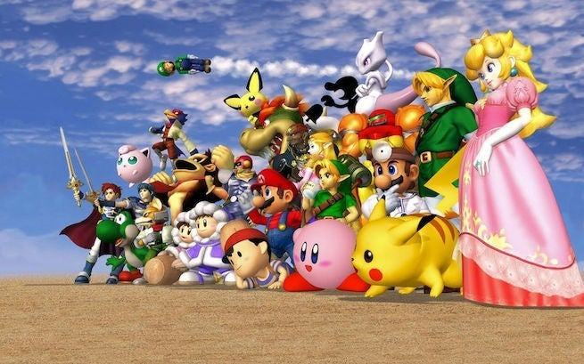 Super Smash Bros, gran crossover