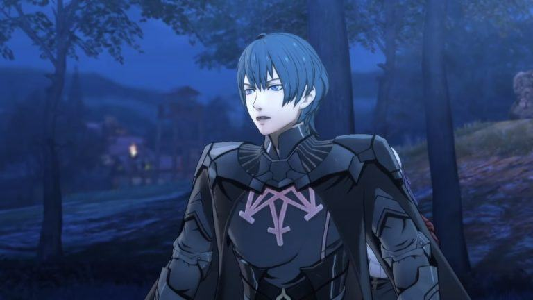 La variante maschile di Byleth in Fire Emblem Three Houses