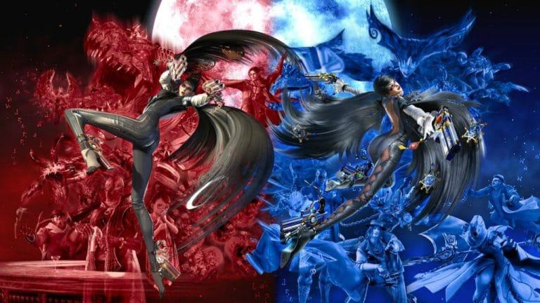 Bayonetta e Bayonetta 2, artwork Switch