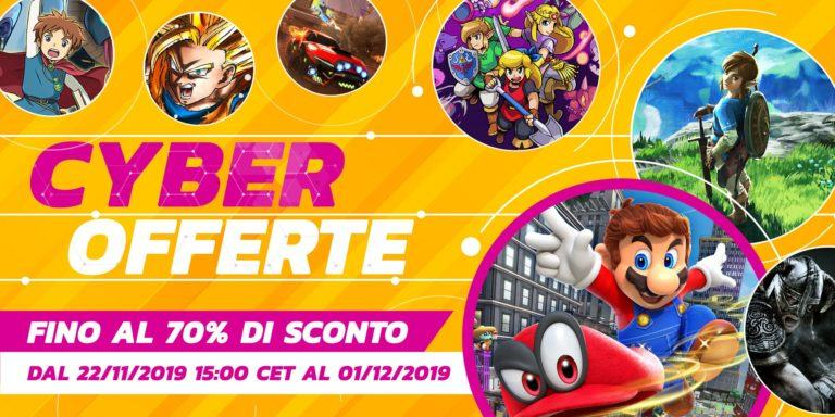 Il Black Friday di Nintendo 2019