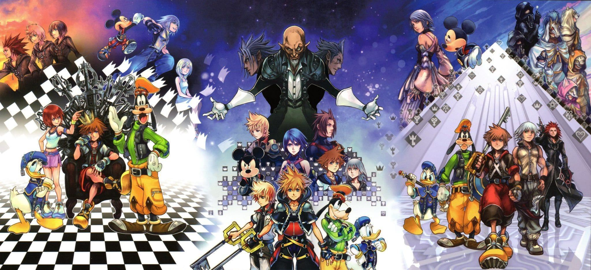 Kingdom hearts 2.8 cover