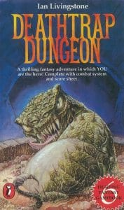 Deathtrap Dungeon book cover