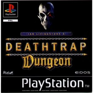 Deathtrap Dungeon ps1 cover