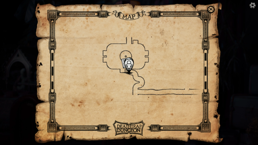 Deathtrap Dungeon mappa
