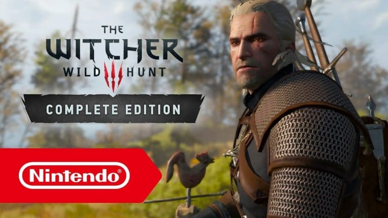 The Witcher 3 per Switch: nuovo aggiornamento