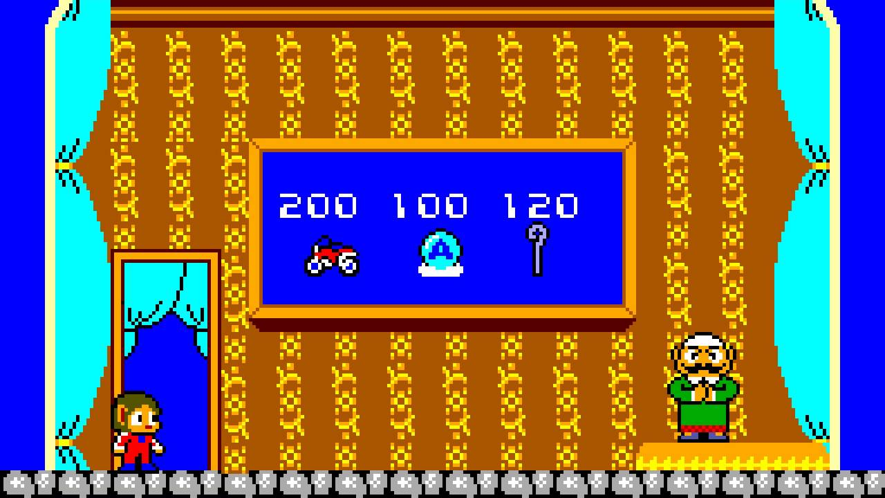 Alex Kidd In The Miracle World