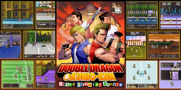 Double Dragon & Kunio-Kun Retro Brawler Bundle logo