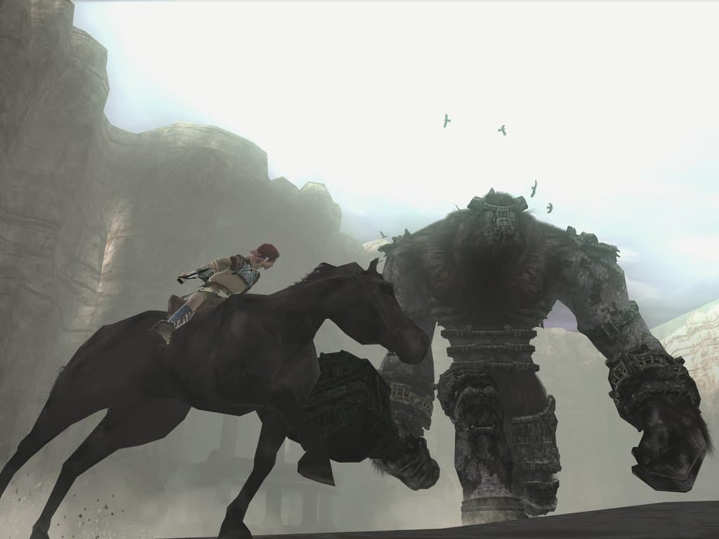 Shadow of the colossus hunt