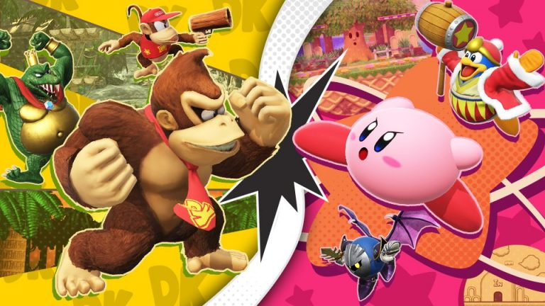 Super Smash Bros. Ultimate, Kirby contro Donkey Kong nel prossimo torneo online speciale