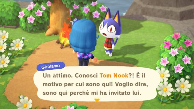 Animal Crossing: New Horizons, guida all'evento del primo maggio e al ritorno di Girolamo
