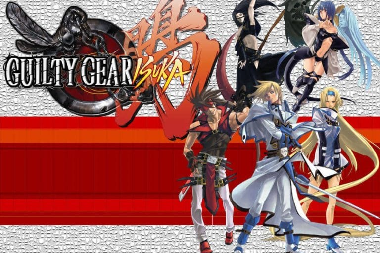 Guilty Gear spin-off Guilty Gear Isuka cover
