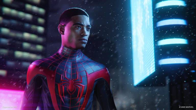 spider-man miles morales launch edition playstation 5 track suit